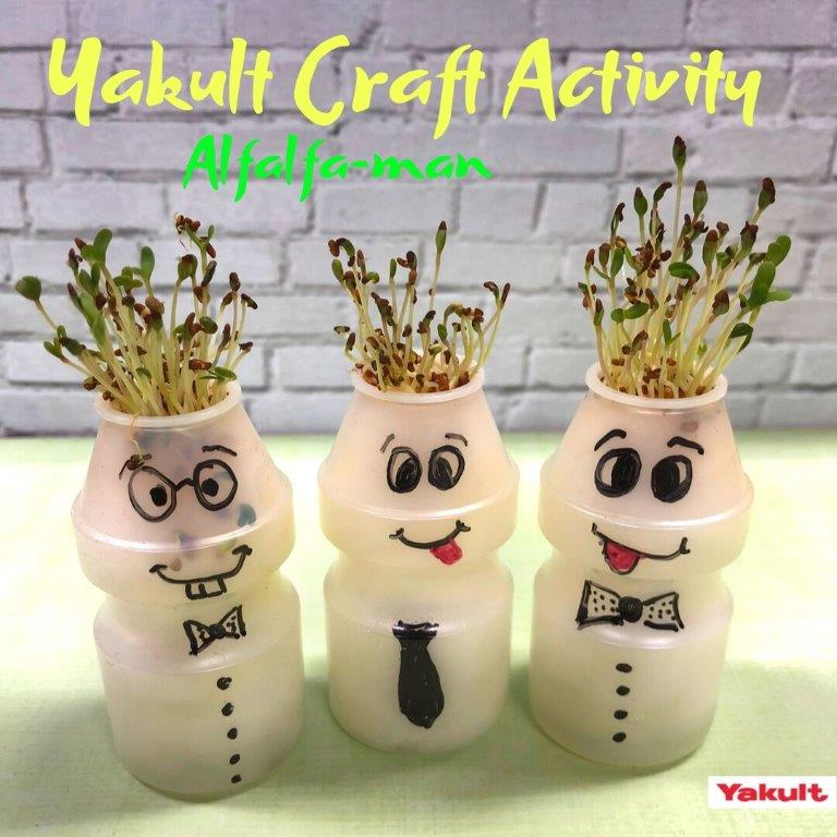 Yakult Craft Activity Alfafa Man